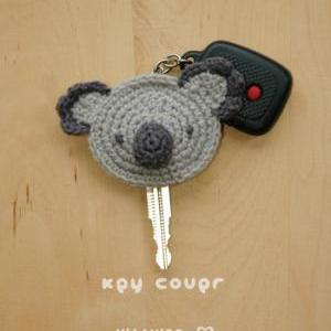 Crochet PATTERN Koala Key Cover - C..
