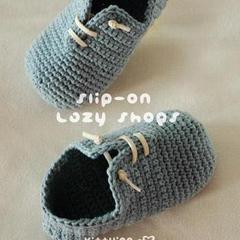 Slip-On Toddler Lazy Shoes Crochet ..