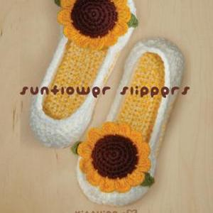 Crochet PATTERN Sunflower Women's H..