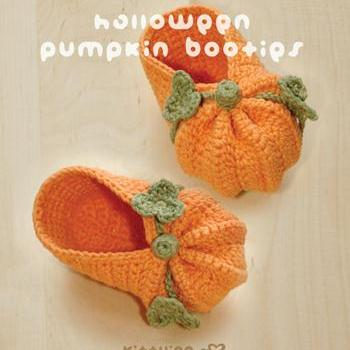 Crochet Pattern - Halloween Pumpkin..