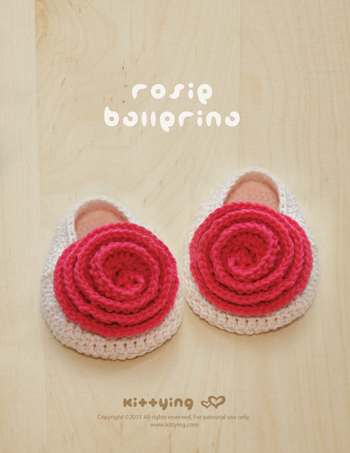 Rosie Ballerina Crochet PATTERN, Chart & Written Pattern by kittying
