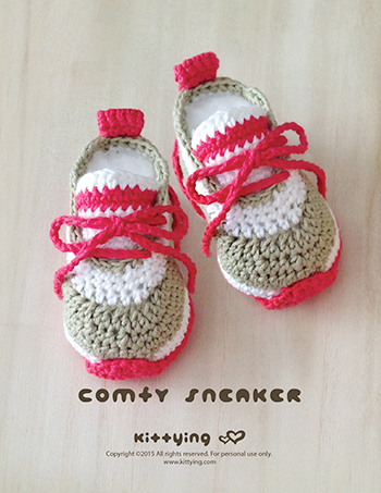 Crochet Baby Pattern Comfy Baby Sneakers Crochet Baby Shoes Crochet