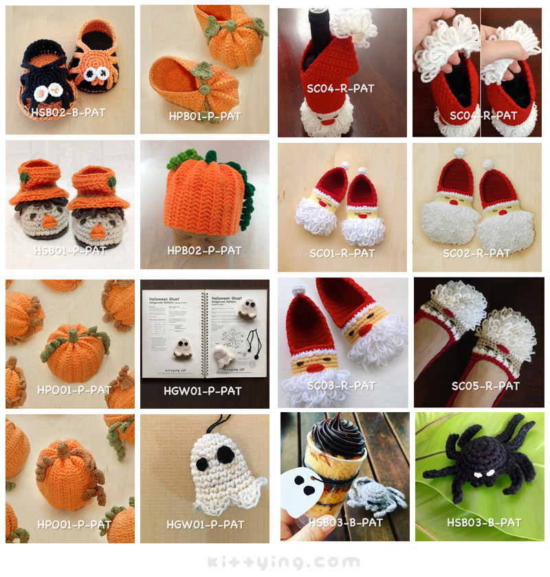Crochet Pattern 10 for USD43 by Kittying