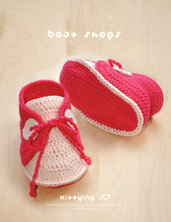 Crochet Pattern Baby Boat Shoes Baby Crochet Sneaker Crochet Shoe