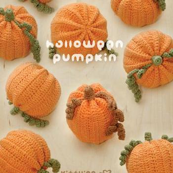 Halloween Pumpkins Amigurumi Crochet PATTERN - Chart & Written Pattern by Kittying
